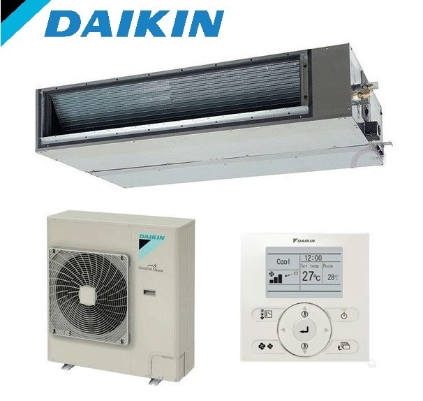 Daikin-FDYQN100LB-LV-10kW-Single-Phase-Reverse-Cycle-Standard-Inverter-Ducted-Air-Conditioning-System