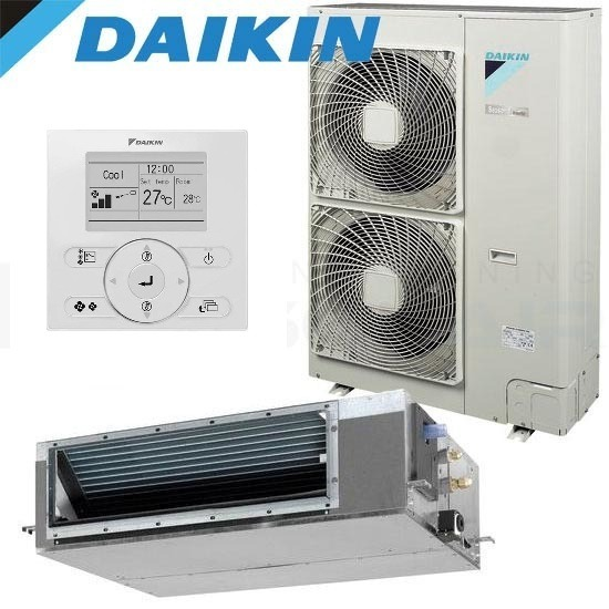 Daikin-FDYQN160LA-LV-15.5kW-Single-Phase-Reverse-Cycle-Standard-Inverter-Ducted-Air-Conditioning-System