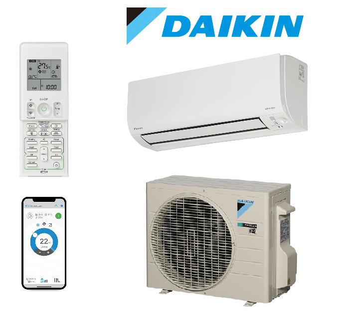 Daikin_Cora_2.5kw_Air_Conditioner_Model_FTXV25UVMA