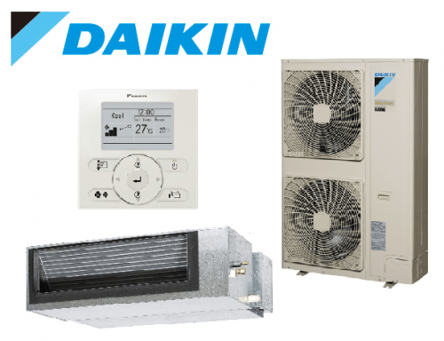 Daikin 12.5kW Reverse Cycle Premium Inverter Single Phase Ducted System FDYQ125LB-AV