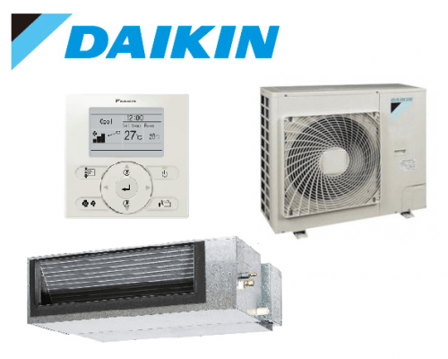 Daikin 5.1kW Reverse Cycle Premium Inverter Single Phase Ducted System FDYQ50DV1