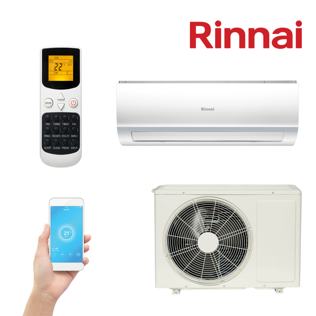Rinnai Inverter Split System D-Series