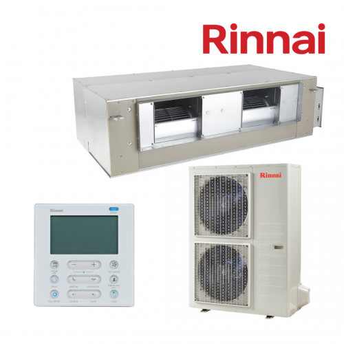 Rinnai Reverse Cycle Inverter Single Phase Ducted System DINL/D ON